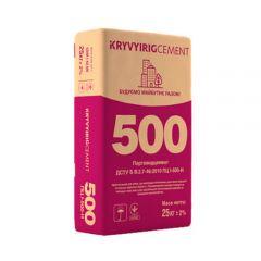 Цемент Криворожский ПЦ І-500-Н Д0, 25 кг
