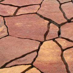 Тротуарная плитка Песчаник Золотой Мандарин