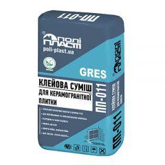 Полипласт ПП-011 Клеевая смесь для керамической плитки + Грес