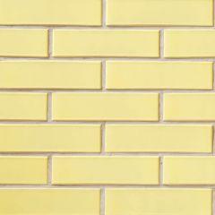 Кирпич СБК глазурованный желтый