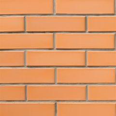 Кирпич СБК-Ромны Желтый Персиковый (Ж1) Полуторная половинка (250х65х88мм)