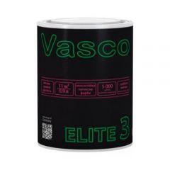 Краска латексная износоустойчивая матовая ELITE 3 VASCO белая 0,9л