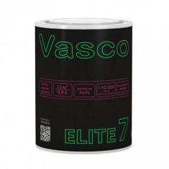 Краска латексная износоустойчивая матовая ELITE 7 VASCO белая 0,9л