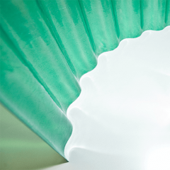 Шифер пластиковый зеленый Vetroplast Magniplast (прозрачный, из стекловолокна)
