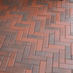 Тротуарна плитка-цегла Болонья (210х70х60) Золотий Мандарин