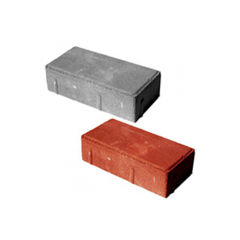 Тротуарна плитка-цегла (200х100х40,60,80) Золотий Мандарин