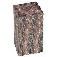 Столбик декоративный болонья с мрамором 350х175х150 Золотой Мандарин