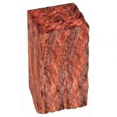 Столбик декоративный бордовый 350х175х150 Золотой Мандарин