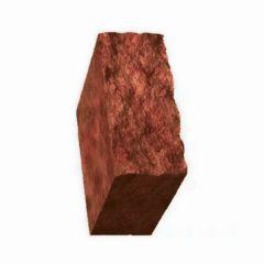 Столбик декоративный бордовый 500х175х150 Золотой Мандарин