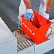Каретка Aeroc Березань 400 мм для кладки газоблока