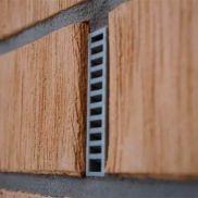 Вентиляционная коробочка 115х60х9 мм серая