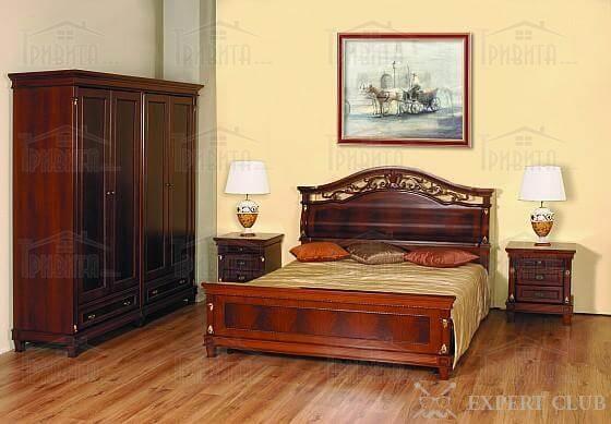 Фото 1. Лінолеум в спальні