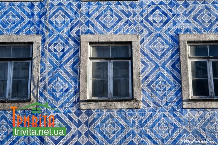 Фото 2. Португальская фасадная плитка