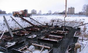зимовий бетонування