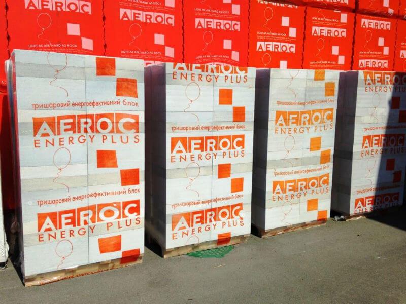 Теплоізоляційні блоки Aeroc Energy як використовувати?