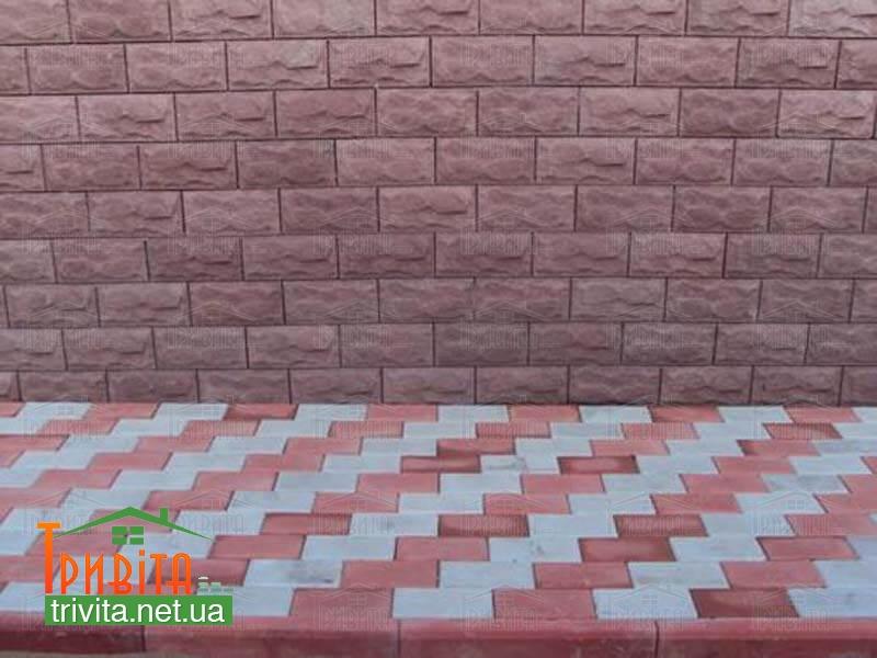 Фото 2. Гіперпресована фасадна плитка