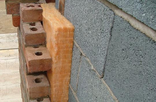 Фото 3. Утепление пенобетонных стен