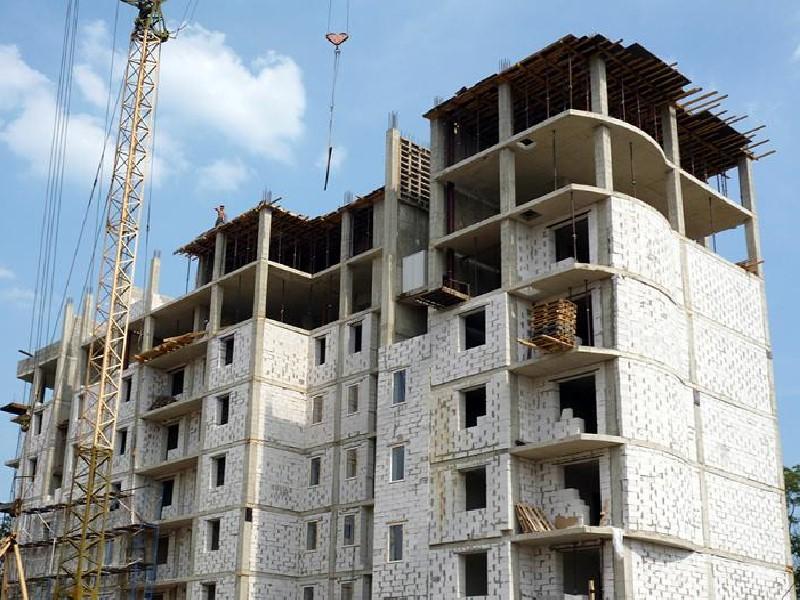 Будівництво багатоповерхових будинків із газоблоку