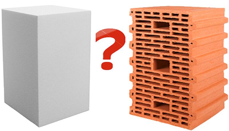 Что теплее - керамоблок или газобетон?