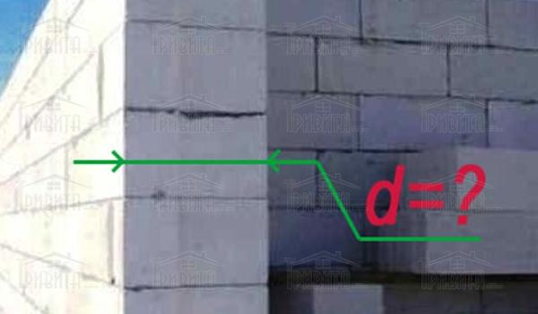 Фото 8. Якої товщини повинна бути газобетонна стіна в нашій кліматичній зоні?