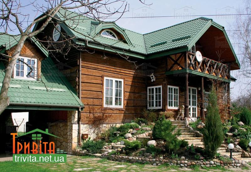 Фото 1. Цвет крыши