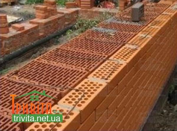 Будівництво стін з керамоблоку
