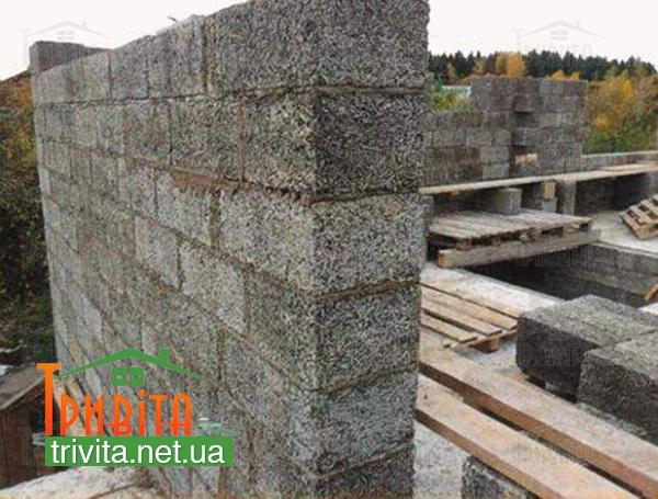 Будівництво стін з керамзітбетону