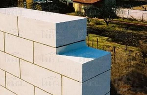 Строительство стен из пеноблока