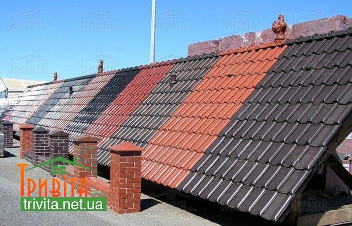 Фото 2. Сочетание цветов крыши и фасада