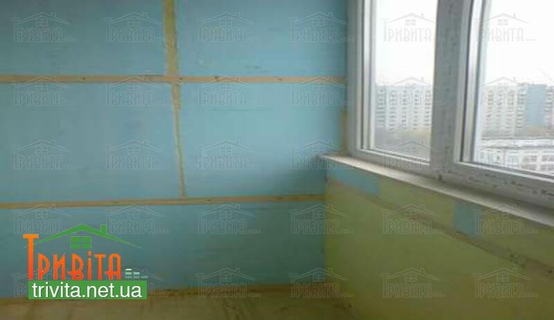 Фото 3. Утеплення стін всередині будівлі