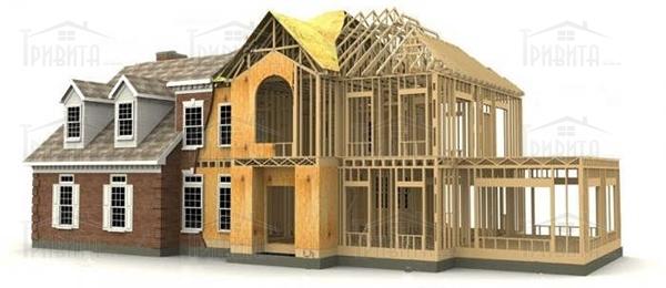 Фото 11. Каркасний будинок і будинок з панелей