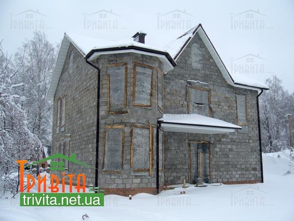 Фото 12. Несприятливі етапи для консервації будівництва будинку