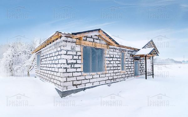 Фото 3. Консервація будівництва на сприятливих етапах