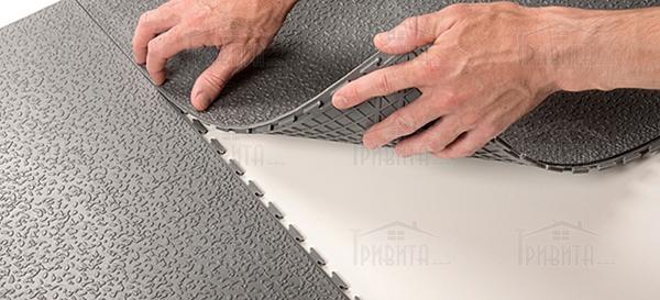 Фото 2. Поливинилхлоридные напольные покрытия (ПВХ)