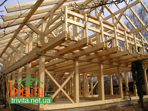 Фото 3. Сооружение ограждающих конструкций