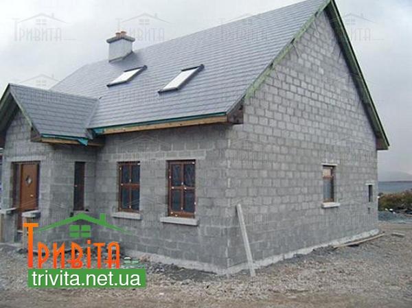 Фото 4. Сфера застосування піноблоку в будівництві