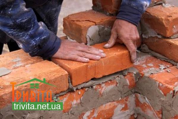 Фото 2. Сфера применения рядового строительного кирпича