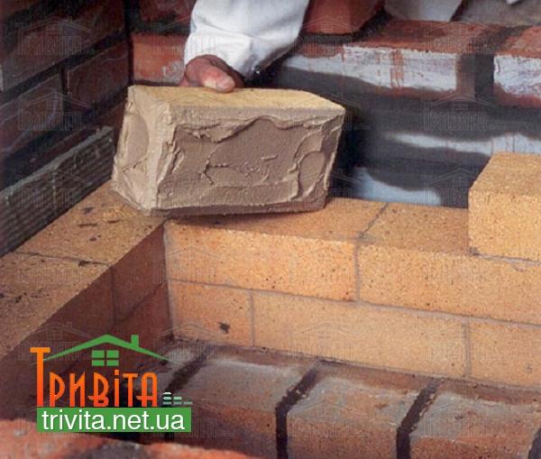 Фото 3. Використання шамотної цегли