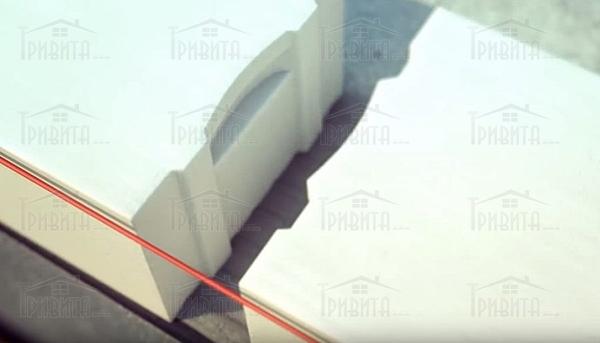Фото 1. Сопряжение внутренних и внешних стен из газоблока