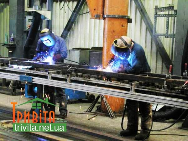 Фото 5. Виробництво металоконструкцій