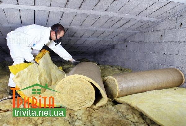 Фото 1. Мінеральна вата є натуральним і екологічно чистим теплоізоляційним матеріалом