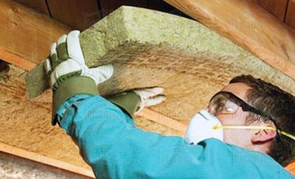 Фото 2. Шкода від волокон мінеральної вати при попаданні в легені