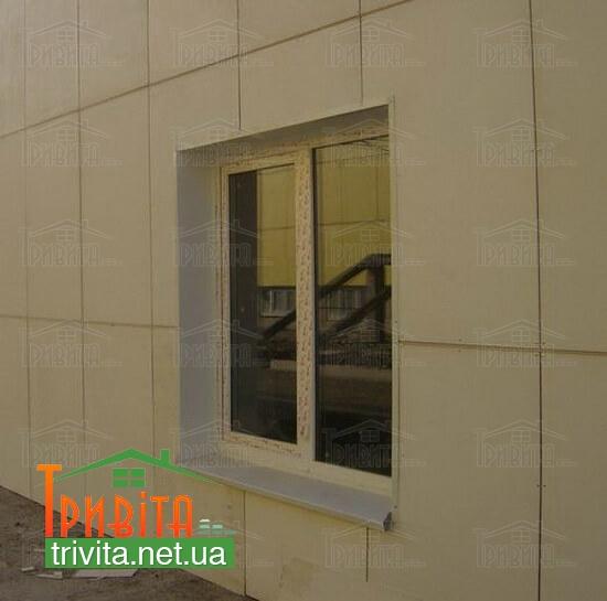 Фото 4. Дом из газосиликата, отделанный стекломагниевыми листами