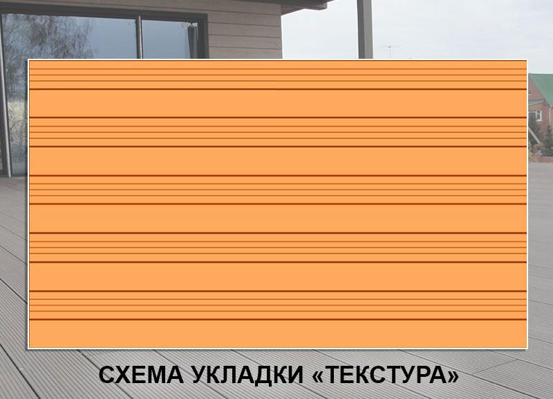 Укладка террасной доски Текстура