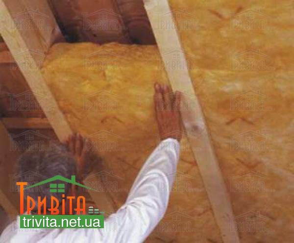 Фото 4. Утепляем крышу бани