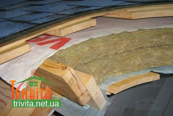 Фото 1. Матеріали для теплоізоляції даху