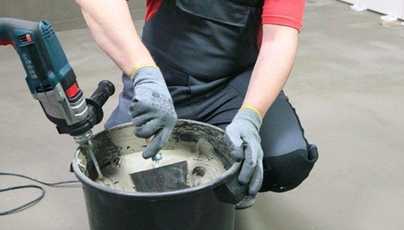 Можно ли смешивать клей для плитки с цементом