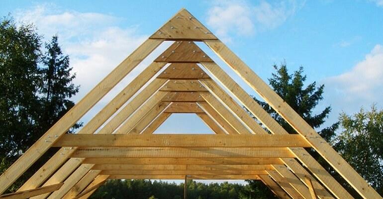 Кроквяна система з деревини