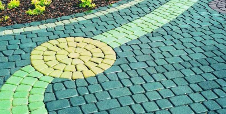 Фото 1. Переваги і недоліки кольорового бетону