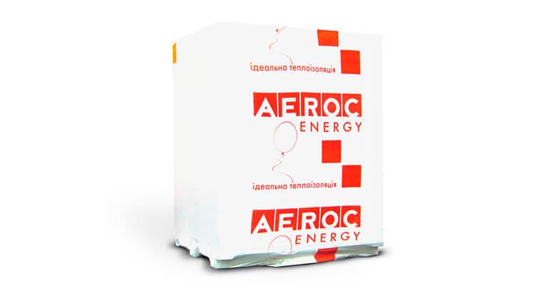 Теплоізоляційні блоки AEROC ENERGY упаковка